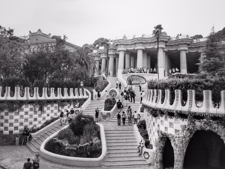 PARK GÜELL: Steps Barcelona