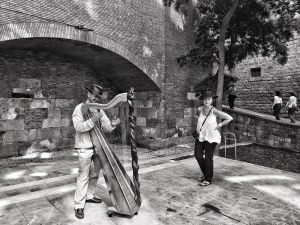 BARCELONA: Street Entertainers