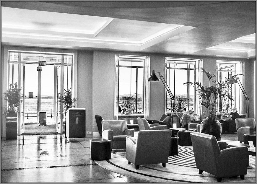 Lounge at Midland Hotel Morecambe