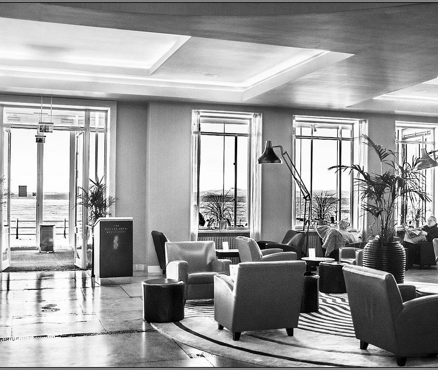 Lounge at Midland Hotel Morecambe