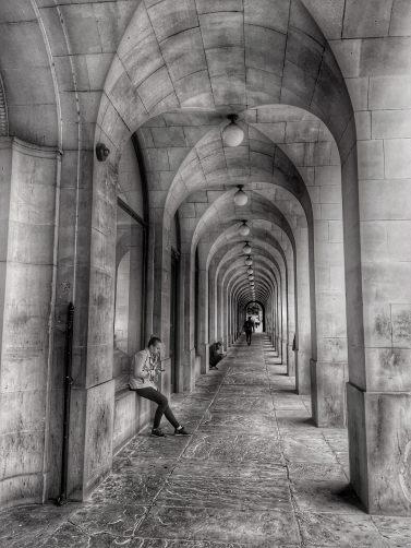 Manchester Arches monochrome B&W