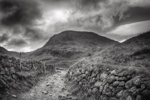 Countryside Paths, monochrome, scenery, Cee's B&W Challenge
