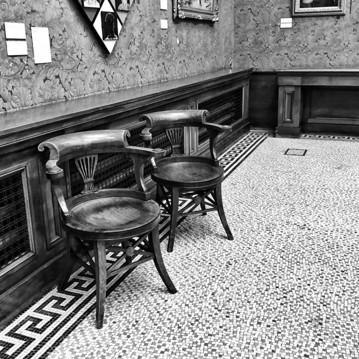 Monochrome Cees Black & White Challenge CB&W Empty seating