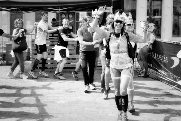 Ciutadella Marathon photojournalistic images of celebrations